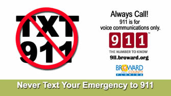 Don't Text 911