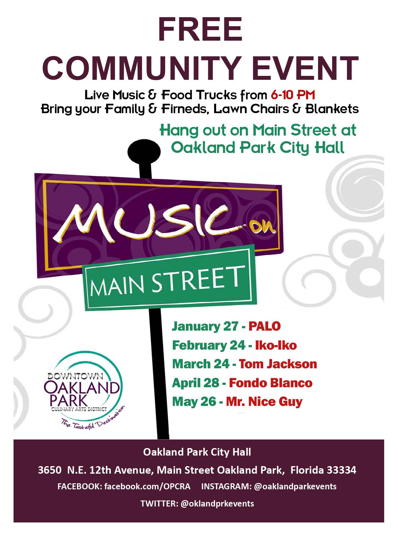 City of Oakland Park - Music on Main Street