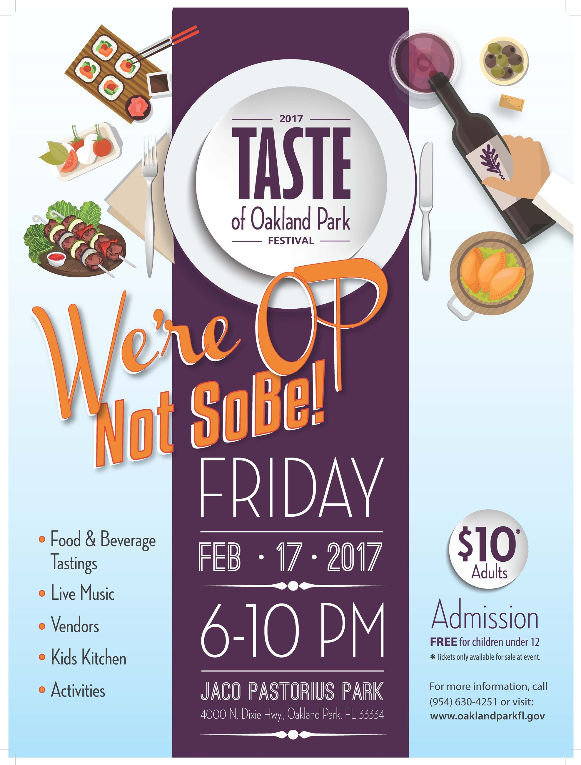 Taste of Oakland Park - We