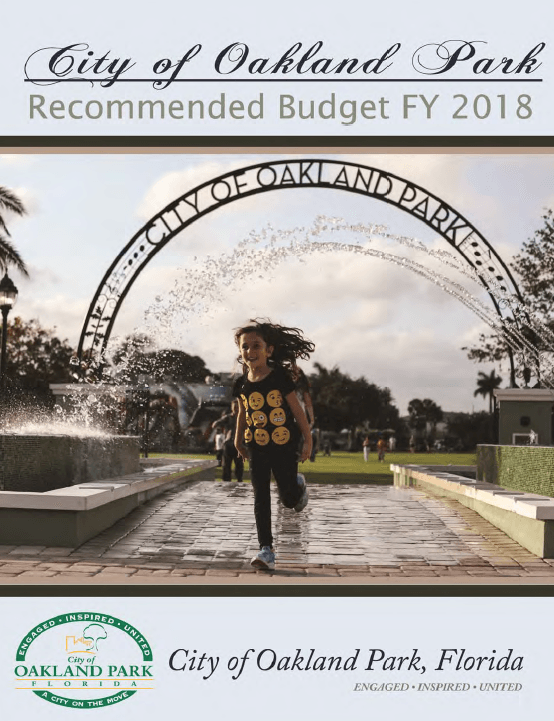 FY 2018 Recommended Budget