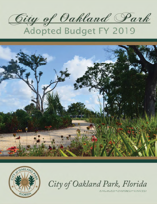 adopted amp proposed budgets oakland park fl official