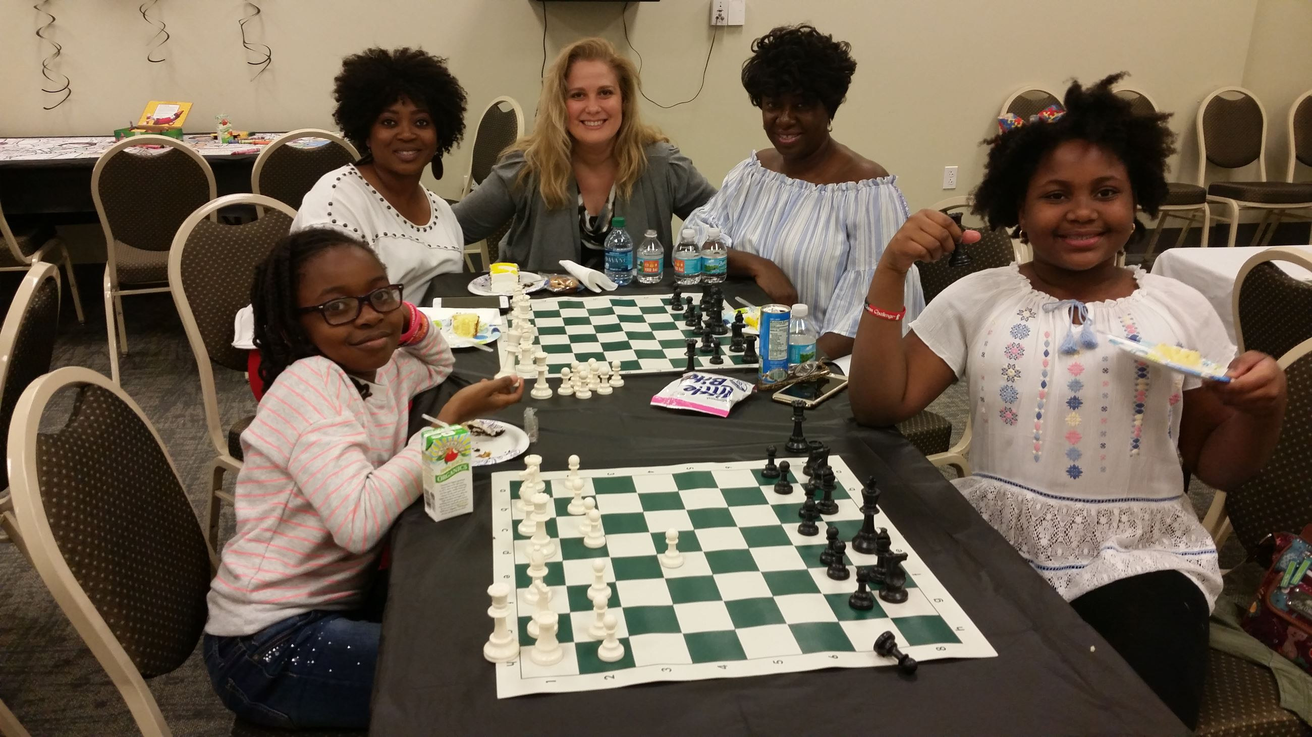 Mayor's Chess Challenge Mother Daughter Teams Photo
