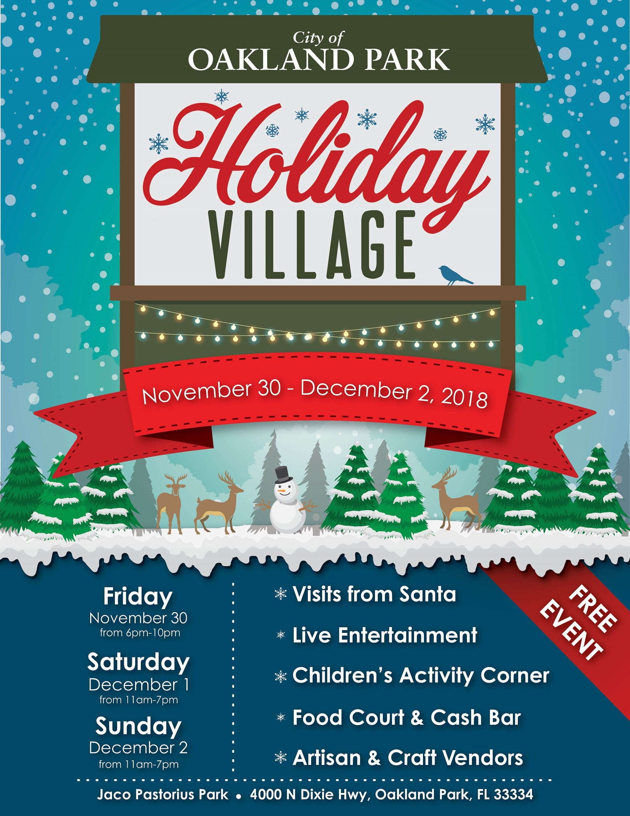 Holliday Village 2018