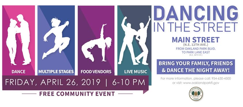 Dancing in the Street 2019 Banner
