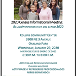2020 Hispanic Census informational meeting -1-29-20