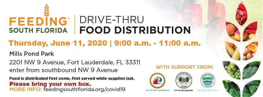 6-11 COVID-19 Mills Pond Park Food Distribution_Facebook cover