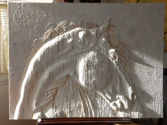 Bellina horse painting 2